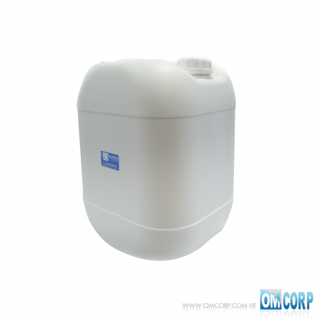 Envase Plástico 20 Litros Blanco con Asa MIA10113P