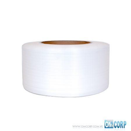 Rollo Fleje Plastico Blanco 1:2 Pulgada X 0.8mm 2000mts