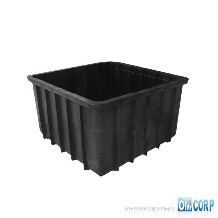 Tanque De Plastico Cuadrado 600 Litros Para Alimentos y Materias Primas