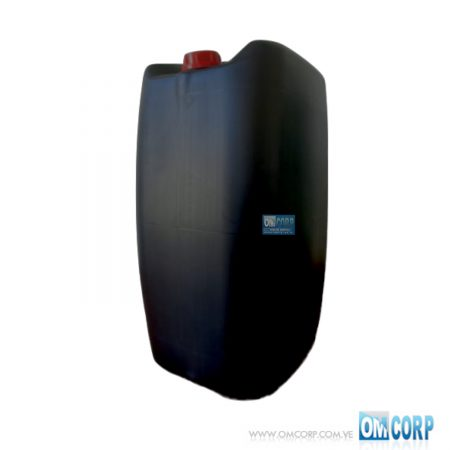 Carboya Plastica 60 Litros Negra Tapa Rosca 2 MIA20774P